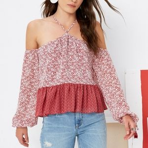Tularosa Syrah Blouse In Dusted Berry